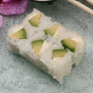 Maki Snow Avocat & Fromage (x6)