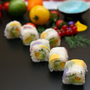Maki de Printemps au Dorade Royale avec sa mangue (x6)